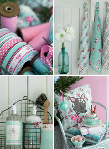 Pastelkleuren bij GreenGate in winter 2012