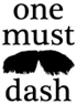 logo one must dash